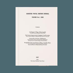 Rossiter Postal History Journal Volume 1