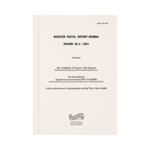 Rossiter Postal History Journal Volume 2